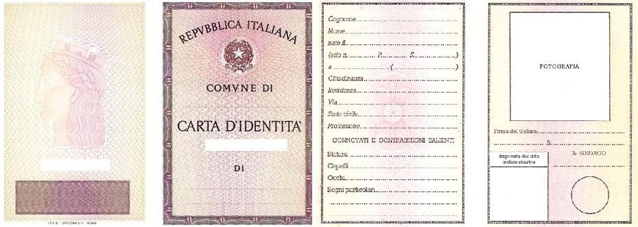 Carta di identità Cartacea | Comune di Morazzone