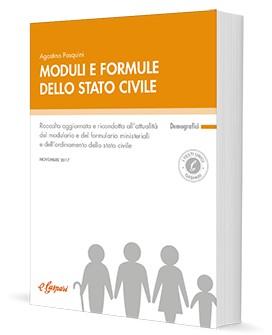 Moduli e formule dello stato civile